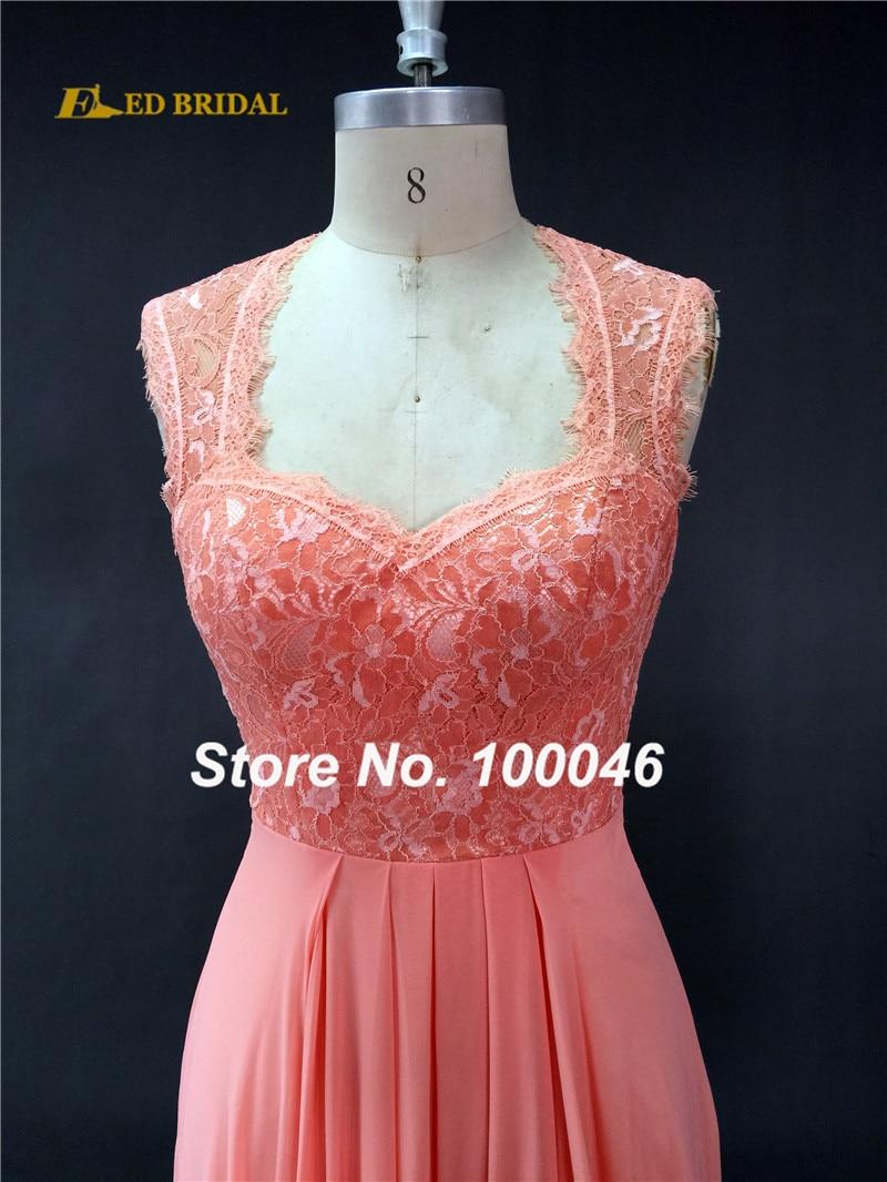 Fantástico Vestidos De Las Damas De Honor En Coral Ornamento ...