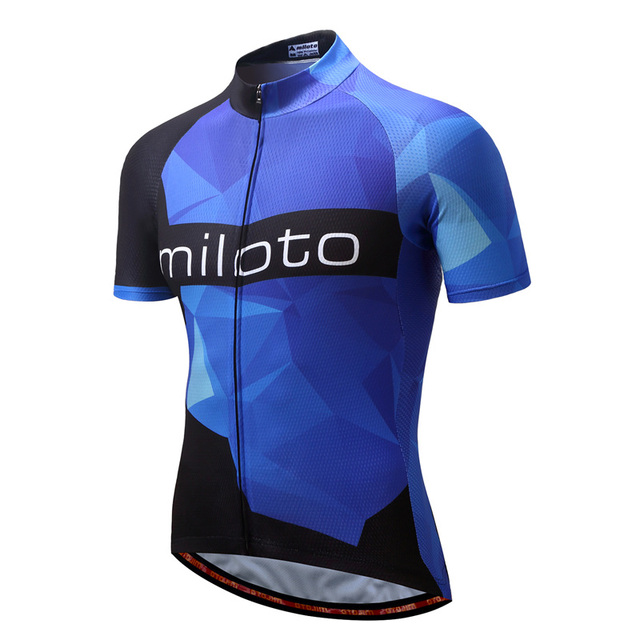 MILOTO 2018 sublimation new fabric cycling jersey wear best pro polyester  cycling clothing summer d6036a778