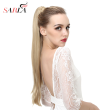 Extension SARLA Claw-Ponytail Natural-Hairpieces Clip-In Straight Long Synthetic P005
