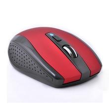 Rojo antideslizante Ergonómico Ratón Óptico Inalámbrico Bluetooth 1600 DPI Gaming Bluetooth 3.0 Ratones Para El Ordenador Portátil Notebook PC Ordenador X