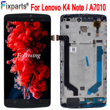100% Tested For Lenovo K4 Note LCD Display + Touch Screen Digitizer Assembly Replacement With Frame For Lenovo A7010 LCD +Tools 100% tested brand new lcd display touch screen digitizer assembly for lenovo s856 s810 s810t replacement parts