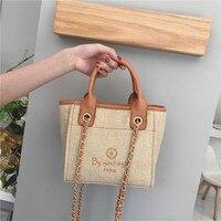 Solid Corduroy Shoulder Bags Environmental Shopping Bag Tote Package Crossbody Bags Purses Casual Handbag For Women