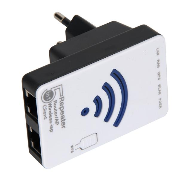 300mps Wireless WiFi Router Relay AP 2.4GHZ IEEE 802.11g/b/n WIFI Expansion Router Wall EU Plug Wireless Router Relay(China)