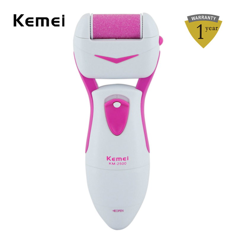 Feet Care Tool Electric Exfoliator Dead Hard Skin / Callus Remover Pedicure Heel Peeling Machine File Pink Color RCS49-P00 hot selling foot care dead hard skin removal heels leg pedicure peeling machine scrub exfoliator with led rechargeable a5556