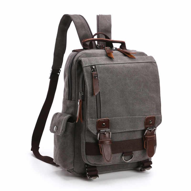 Маленький размер, холщовый рюкзак, сумки через плечо, мужская дорожная сумка, нагрудные сумки, женский рюкзак для ноутбука, школьные сумки, женский рюкзак