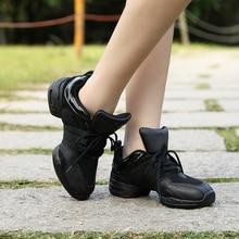 B205 New Arrival Mesh Black Fittness Outdoor Zapatilla De Deporte Jazz Dance Shoes Dance Sneakers For Women