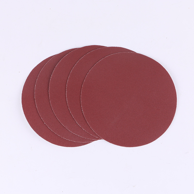 New High-quality Self-adhesive Sandpaper, 230mm Diameter Wall Polished, Brushed Disc Polishing Machine Sandpaper 60-600#
