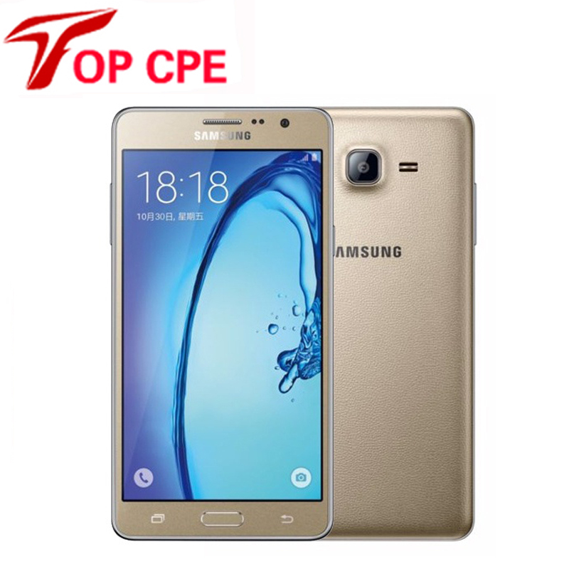 "Refurbished Original Unlocked Samsung Galaxy On7 G6000 Mobile Phone Quad Core 5.5""13MP 4G LTE Android phone 1280×720 Dual SIM"