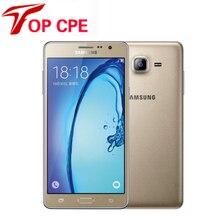 Оригинальный Разблокирована Samsung Galaxy On7 G6000 Мобильный Телефон Quad Core 5.5 »13MP 4 Г LTE Восстановленное Android-телефон 1280 х 720 Dual SIM