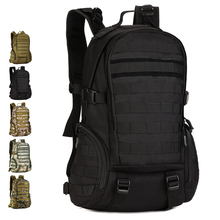 Multifunction Backpack 35L Nylon Camo Tactical MOLLE Assault Pack Hiking Climbing Travel Camping Hunting Cycling 14