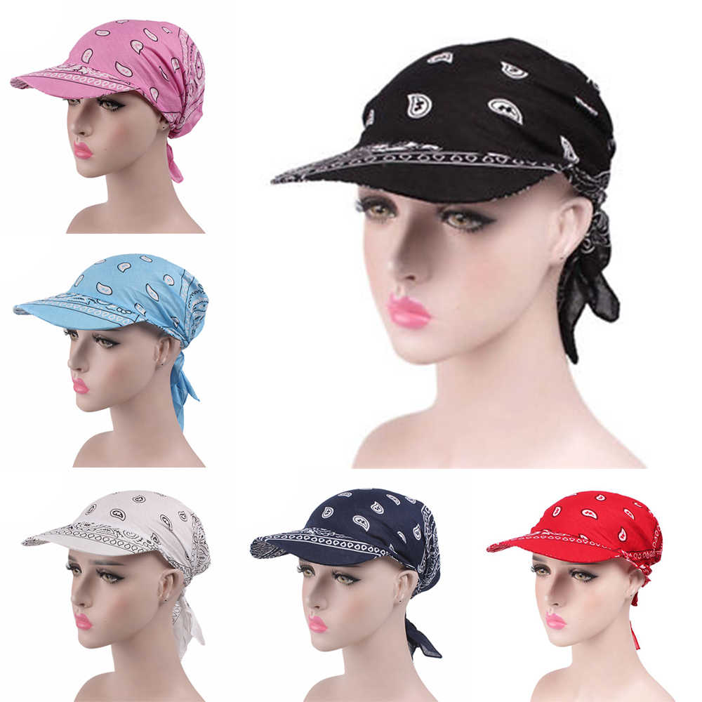 232d70a5 Sun Hats 2018 New Arrive Woman Wide Brim Summer Sun Hat Scarf Cap Chemo  Hijab Turban