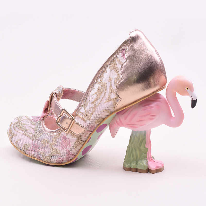 ... women lace mesh high heels wedding shoes 10cm Flamingo heels shoes woman  gladiator sapato feminino sequin ... 6f2e81de114e