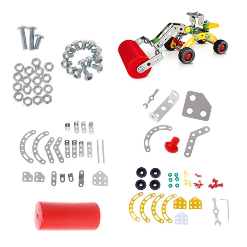 Construction Assembling Toy DIY Car Model Hole Digger Building Blocks W25