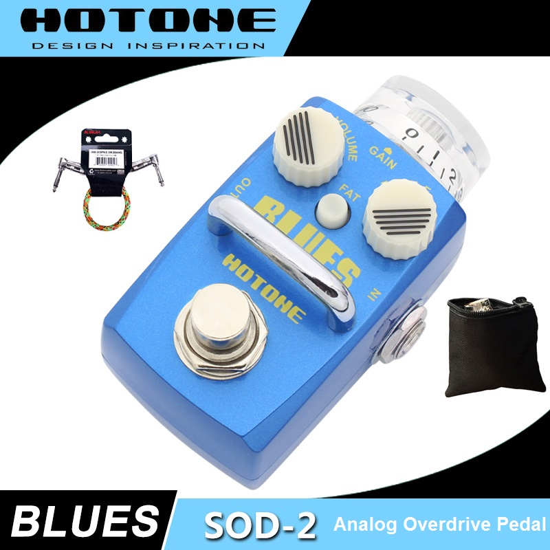 Hotone Skyline Series BLUES Overdrive Pedal with Free Pedal Case and More гитарный комбоусилитель roland blues cube stage