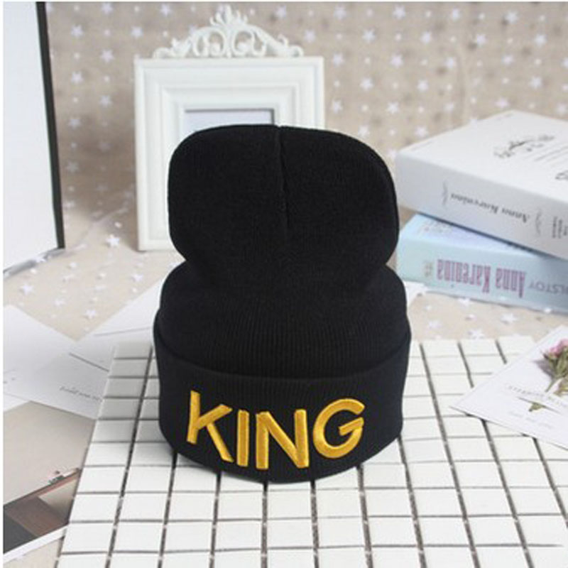 Beanie Men Women Stocking Hat Skullies Winter Cap Knitted Hiphop Hat Female Couple Warm Cap