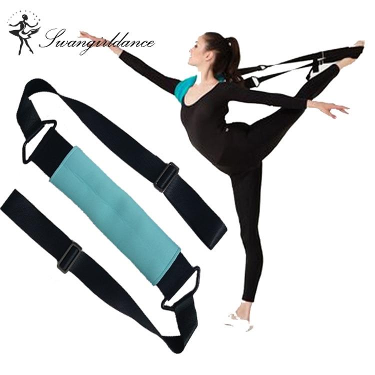 High Quality Women Ballet Soft Opening Band Dance Training Tension Belt Girls Stretching Ballet Band Yoga DT021