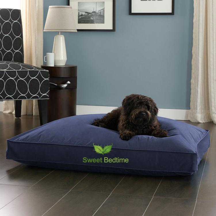 Dog-Bed-Navy