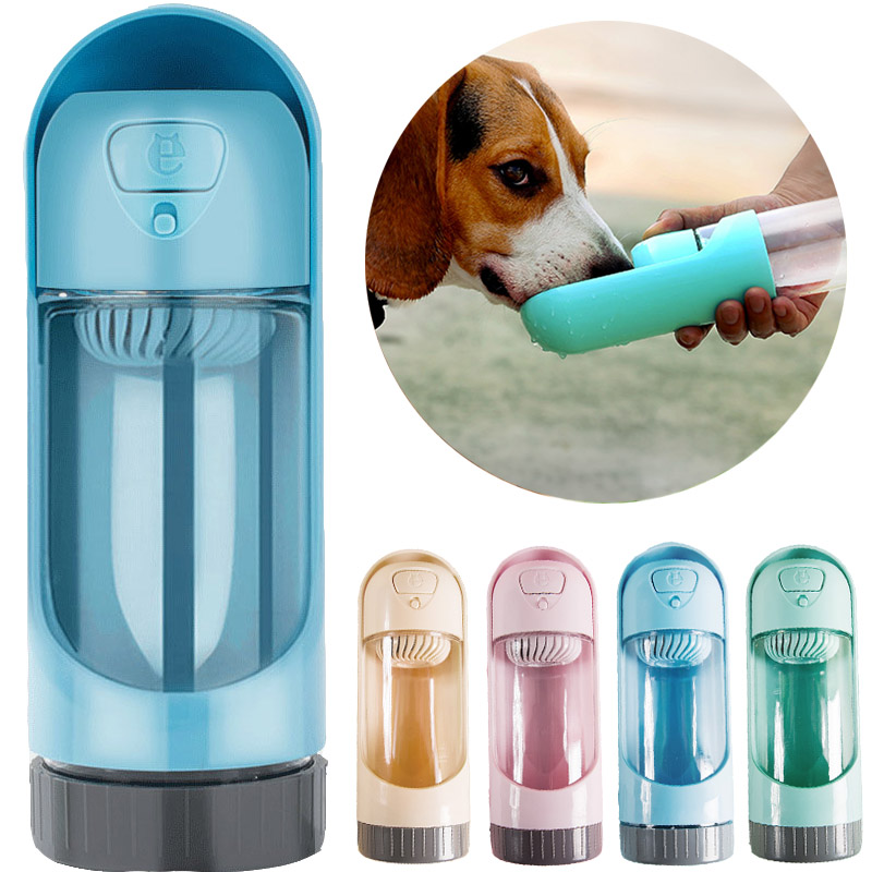 Portable Pet Dog Water Bottle For Small Large Dogs Travel