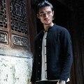 Китайский стиль мужская куртка хлопок белье мода повседневная пальто человек улица панк хип-хоп куртки slim fit пальто плюс размер M-3XL, C58