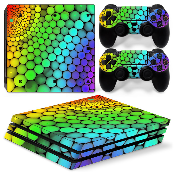 Factory Direct Sell Hot Sell Price Skin Sticker for PS4 Pro Console and Controllers