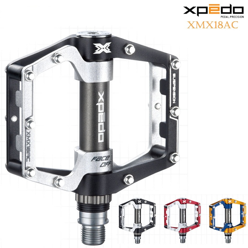 Wellgo Xpedo Original XMX18AC Bicycle Pedals Cycling Aluminum 6061 CNC Road Bike Pedals Ultralight Mountain Bike Bearing Pedals rockbros mountain bike pedals double bearing aluminum alloy pedals