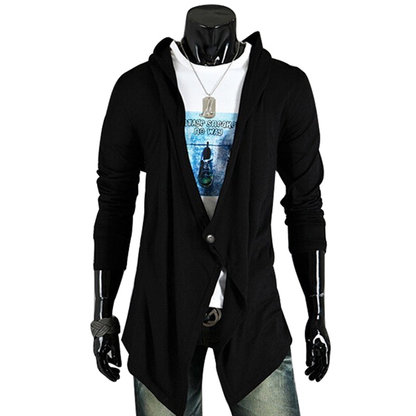 2016 New Brand Cardigans Men Long Sweater Solid Design Men s V neck Sweaters Fashion Cotton