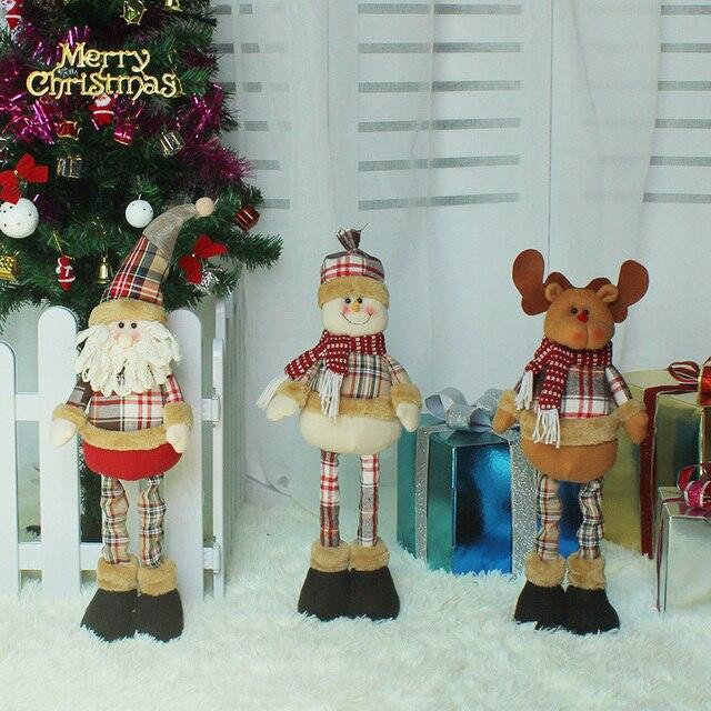 1 pieza venta unids superior telesc pica bar santa claus - Decoracion de navidad para oficina ...