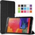 Легкий Услуга/Сна Оригинальный Стенд Чехол, Ultra Slim MagSmart Кожаный Чехол Таблетка для Samsung Galaxy Tab Pro 8.4 T320 T321/5