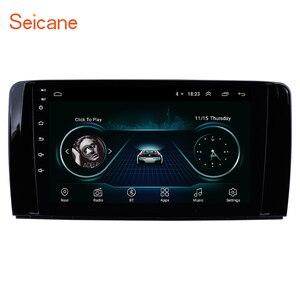 Image 1 - Seicane أندرويد 8.1 سيارة راديو رئيس وحدة لمرسيدس بنز R الفئة W251 R280 R300 R320 R350 R63 2006 2013 مشغل وسائط متعددة لتحديد المواقع