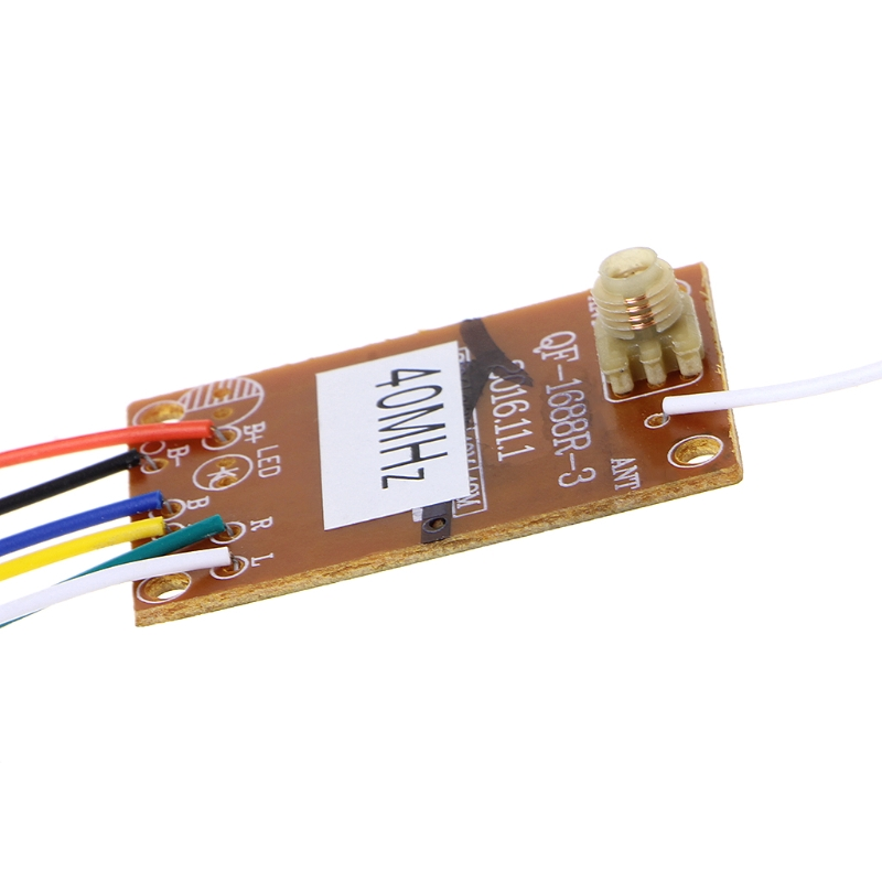 4CH <font><b>40MHZ</b></font> Remote Transmitter & Receiver Board with Antenna for DIY RC Car Robot 95AE image