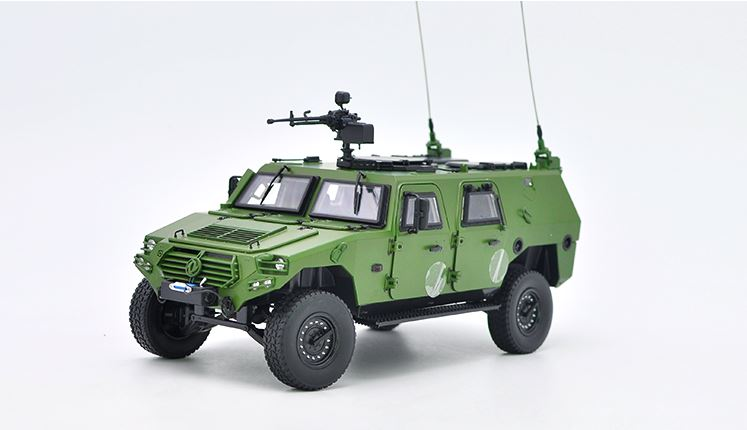 Alloy Model 1:18 Dongfeng Mengshi Warrior Army Off-road Military Truck Vehicles DieCast Toy Model Collection,Play, Decoration