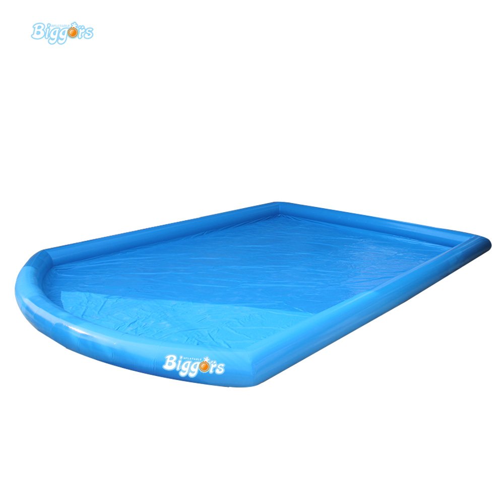 Large Inflatable Water Pool Inflatable Kids Toys Inflatable Outdoor Pool With Air Pump popular best quality large inflatable water slide with pool for kids