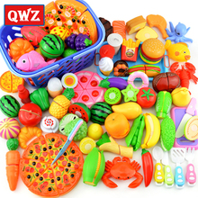 Toy Play-Toys Miniature Do-House Cutting Fruit Pretend Vegetable-Food Children Kitchen