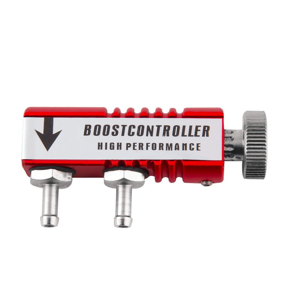 Prix pour Universel Voiture De Course Turbo Boost Controller Turbo Turbine D'administration Valve Manuel Boost Controller Rouge Vente Chaude