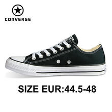 CONVERSE origina all star shoes big size EUR45,46,48 uninex sneakers man and woman's Skateboarding Shoes(China)
