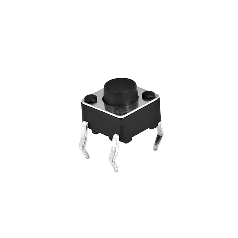 100pcs/bag 4Pin Micro Tactile Push Button Switch Momentary Miniature Tact Pushbutton Switches 6x6x5mm