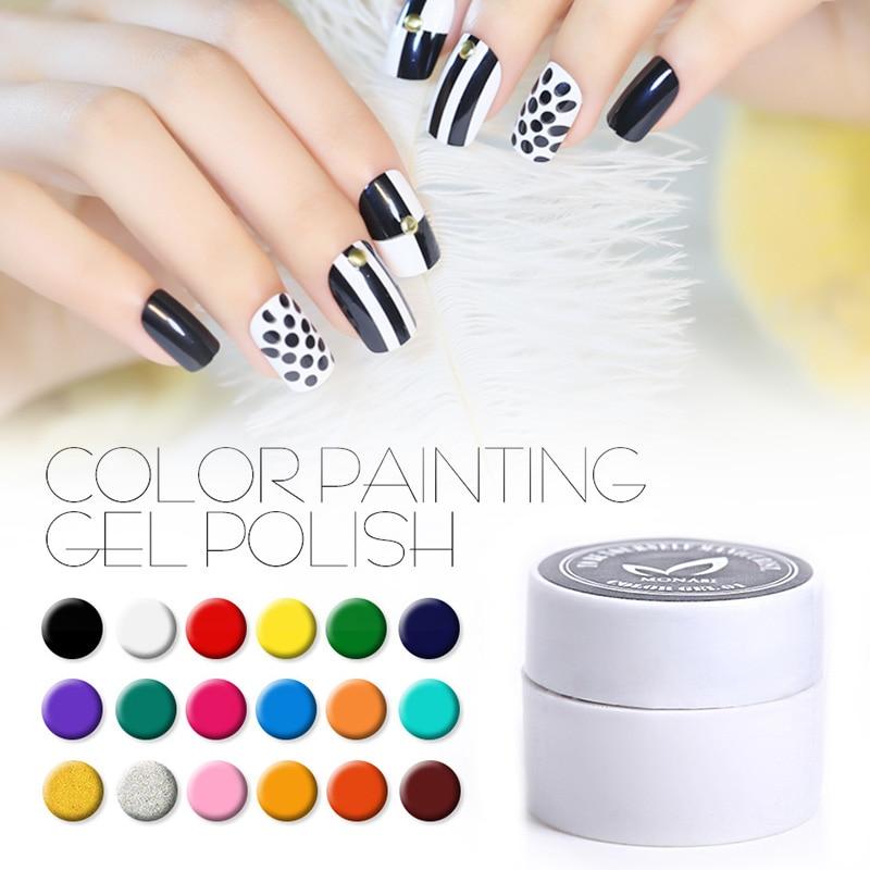 DP01~DP30)3D Nail Art Gel Nail Paint Polish Draw Painting Colors UV ...