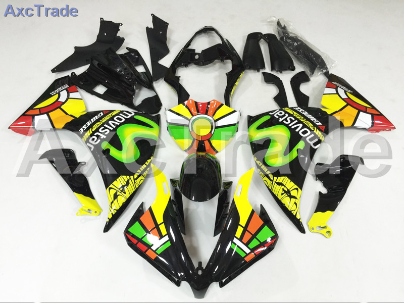 Motorcycle Fairings For Yamaha YZF-R1000 YZF-R1 YZF 1000 R1 2012 2013 2014 YZF1000 ABS Plastic Injection Fairing Bodywork Black поршень 04 08 yzf1000 r1