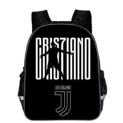 10f8d35227 2019 School Bags Backpack Ronaldo Juventus cr7 Printing Boys Schoolbag  Students Book Bags Kid Teenager Schoolbags
