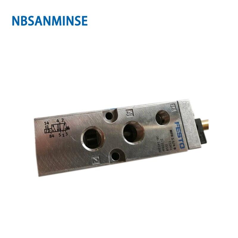 MFH Solenoid Valve With Coil 1/4 , 1/8 Original NBSANMINSE