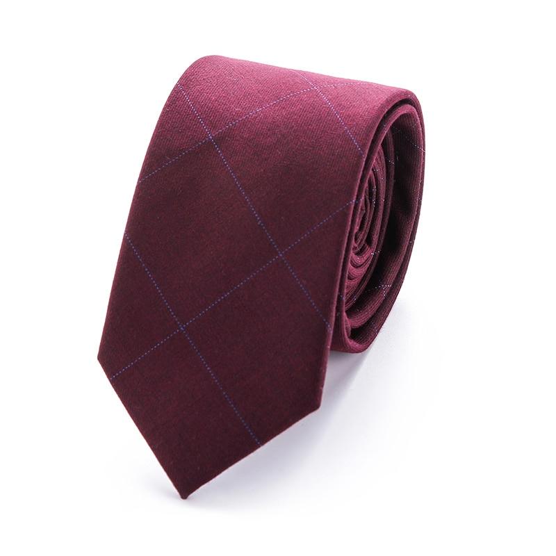 top brand 2018 New design 6 cm cotton mens tie Skinny Slim Narrow necktie men fit wedding business party group corbatas gavata