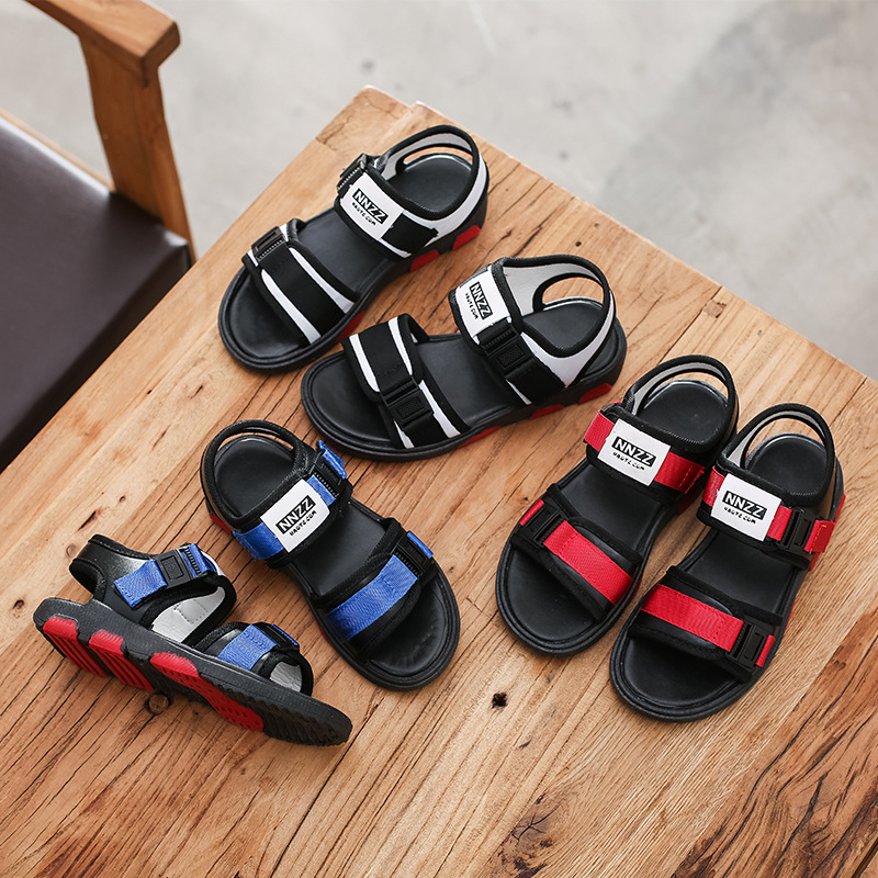 The boy girl beach sandals, children shoes students in summer shoes