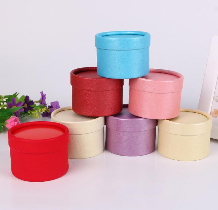 Wedding Gift Boxes: 250pcs Romantic Wedding Gift Boxes,Round Paper Boxes,Party