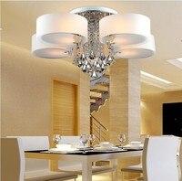 Современные потолочные светильники для Гостиная luminarias para sala teto abajur Кристалл Потолочные светильники для Спальня Бесплатная доставка