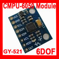 Frete Grátis GY-521 MPU-6050 MPU6050 Módulo 3 Eixo sensores de giroscópios analógico + 3 Eixos Acelerômetro Módulo