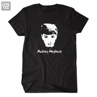 New 2013 Audrey Hepburn T Shirts Top Shorts Angle In The World Casual Jersey Party Clothes