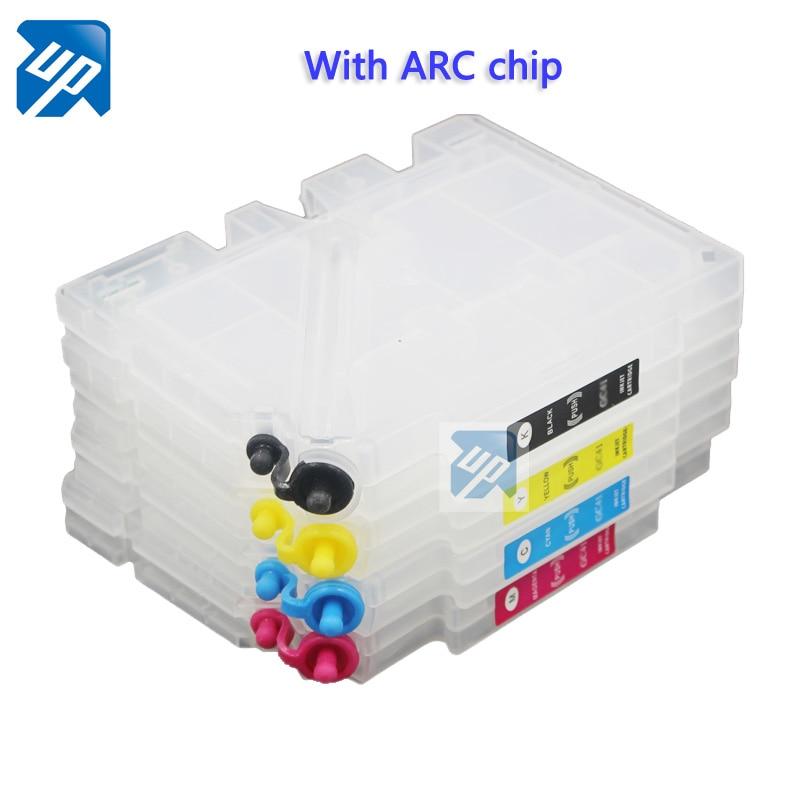 Cartouche dencre rechargeable GC21 pour imprimante Ricoh GX3050 GX2500 GX2050N GX3000 GX5050N GX3000 avec puce ARC