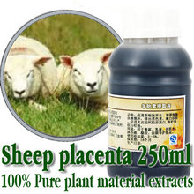 Strongly recommended 100% pure sheep placenta extract 250ml moisturizing anti aging wrinkle firming skin care Free shopping цена