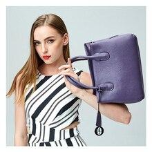 The New 2016 Ms Import Brand Leather Single Shoulder Bag Handbag Free Shipping