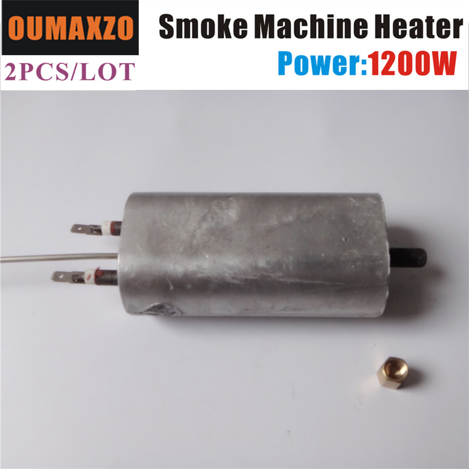 2PCS/LOT OUMAXZO 1200W 110V 220V Fog Machine heater smoke machine hazer Hood stage light
